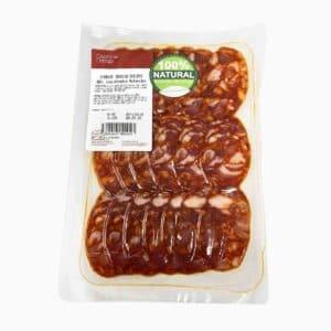 Chorizo ibérico de bellota 100% natural 100 g Casa Ortega