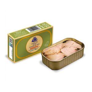 Lomo de atún en aceite de oliva 110 g Herpac